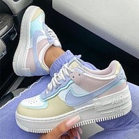 Nike WMNS Air Force 1 Shadow Ultra light low top sports casual shoes-3