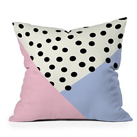 Allyson Johnson Mod Rose Pink Throw Pillow