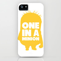 One in a Minion iPhone & iPod Case by LookHUMAN