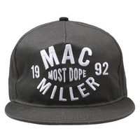 Mac Miller - Thumbs Up on Grey Snap Back - Hats - Official Merch - Powered by MerchDirect