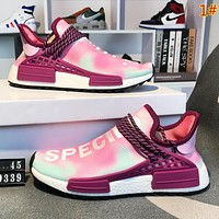 Adidas Human Race Nmd New fashion colorful color sports leisure couple shoes