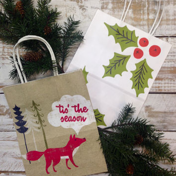 Need it wrapped?  Add a Holiday gift bag