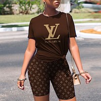 LV Louis Vuitton Fashion Women Long Sleeved Lapel Shirt Top-3