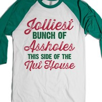 White/Evergreen T-Shirt | Fun Christmas Vacation Quote Shirts