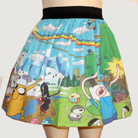 Adventure Time Full Skirt
