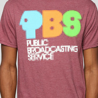 Pixelated PBS Tee - Urban Outfitters