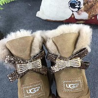 Tagre UGG Women male Fashion Wool Snow Boots