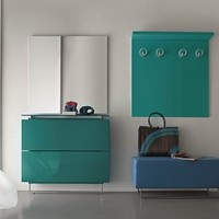 Lacquered shoe cabinet HOSOI Hosoi Collection by Birex