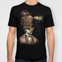 The Projectionist (sepia option) T-shirt by Eric Fan