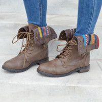 Lose Your Temple Boots: Taupe