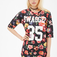 Floral Swagger Graphic Tee