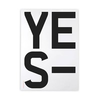 Yes Poster -22%