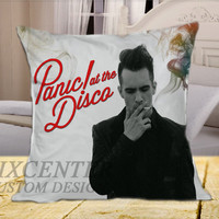 Panic at The Disco on Square Pillow Cover