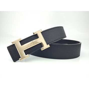 Hermes men's and women's casual casual style H letter fashion belt