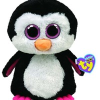 Ty Beanie Boos Paddles The Penguin Pink