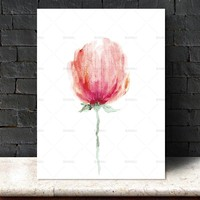 Wall art Picture decor poster Canvas Painting canvas painting Wall art art print flower Picture home decor Wall Picture no frame