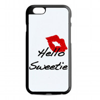 kiss hello sweetie For iphone 6s case