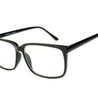 Clear Lens Optical Style Eye Glasses Frames Black T231 – FREYRS - Sunglasses at Affordable Prices