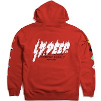 Prohibited Hoodie Red