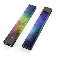 Skin Decal Kit for the Pax JUUL - Dark 9711 Absorbed Watercolor Texture