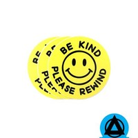 Be Kind, Please Rewind Sticker (Set of 3)