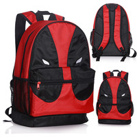Girl boy student game Teenager Marca Mochila Escolar red x-man  Deadpool backpack marvel comics superheros shoulder school bag