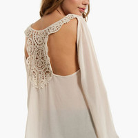 Laced Back Top $33
