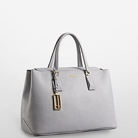 rowell pebble leather business tote   Calvin Klein