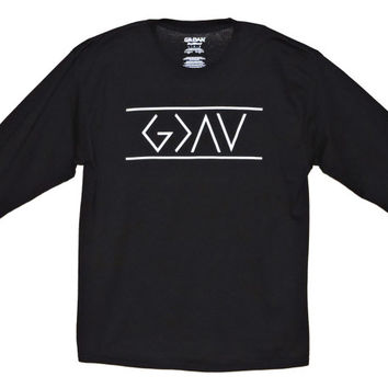 God is Greater than the Highs and Lows T shirt