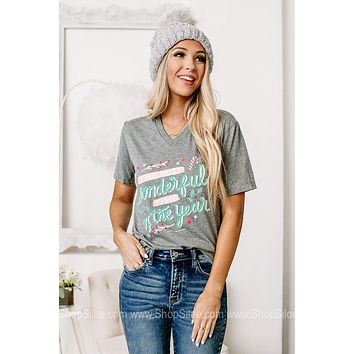 The Most Wonderful Time Of The Year Graphic Tee