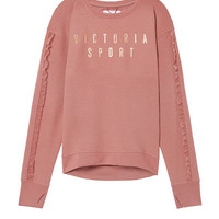 Ruffled Fleece Pullover - Victoria's Secret