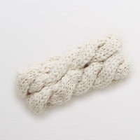 Aerie Cable Ear Warmer, Cream