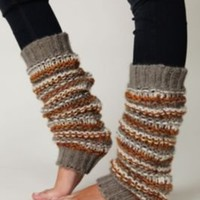 Free People League Stripe Legwarmer at Free People Clothing Boutique