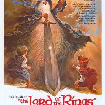 Lord of the Rings 11x17 Movie Poster (1978)
