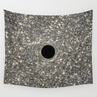 Wall Tapestry, Space Tapestry, Wall Hanging, Supermassive Black Hole Stars, Space Wall Art,Large Photo Wall Art, Modern Tapestry, Home Decor