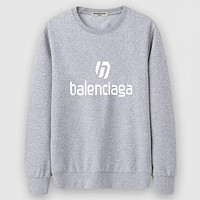Balenciaga Women Men Fashion Casual Top Sweater Pullover