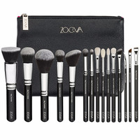 2106 TOO ZOEVA makeup brush COMPLETE SET include eye / faced brush pro make up tools 15pcs/set ZOEVA Makeup brush set