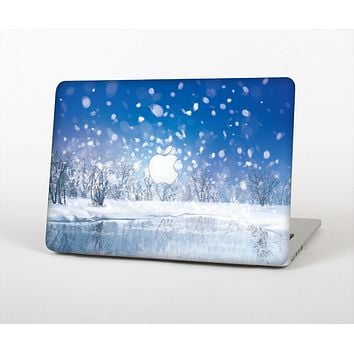 The Frozen Snowfall Pond Skin for the Apple MacBook Pro 15""