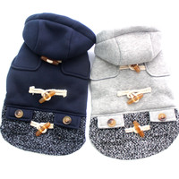 New Arrival Blue & White Girly Dog Cat Hoody (5 Sizes, 2 Colors)