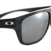 OAKLEY BREADBOX POLARIZED OO9199-03 Sunglasses POLISHED BLACK IRIDIUM holbrook