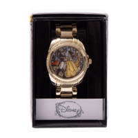 Disney - Beauty and the Beast - Stained Glass Gold Watch