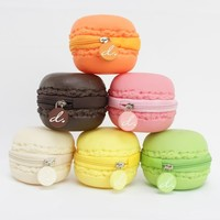 Scented Macaron Coin Purses