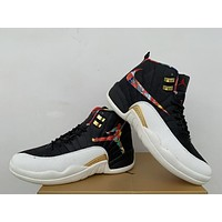 Air Jordan 12 Retro AJ 12 CNY Men Basketball Shoes