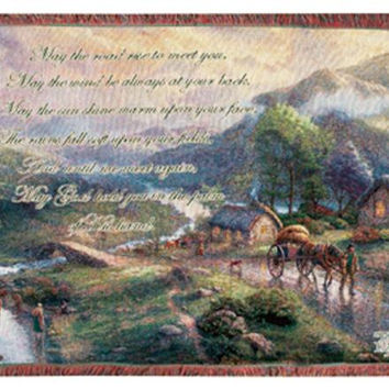 Irish Blessing Tapestry Throw Blanket - Officially Licensed
