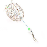 1 X Small Bait Cage Fishing Trap Basket Fish Bait Lure Fishing Accessories LS2