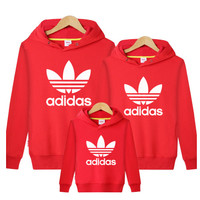 Adidas sport Hoodie parent-child loaded