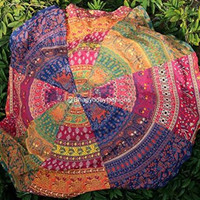 Colorful Print Beach Towels Tapestry  B0013835