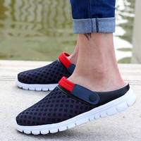 2019 Summer New Men Women Slip-on flats Shoes Hot Sale Breathable Mesh Leisure Shoes Unisex Couples Casual Shoes Zapatos