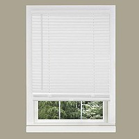 Park Avenue Collection Cordless GII Morningstar 1 inch  Mini Blind 27x64 - Pearl White