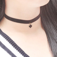 Black Crystal Choker, Black Choker, Velvet Choker, Fashion Necklace, Choker Necklace, Daugthers Gifts, Beautiful Necklace, Adorable Necklace